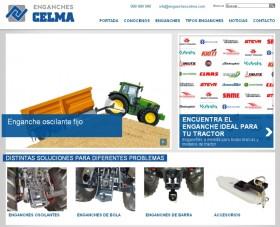 Enganches Celma estrena nueva web