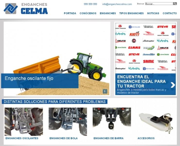 Nueva web Enganches Celma