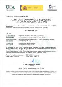 CERTIFICACION POR PARTE DE UCA DE LA PRODUCCION