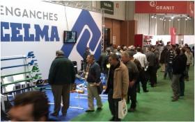 Ubicación del stand de Enganches Celma, en FIMA 2012